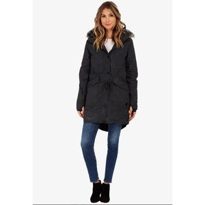 Bench Fur Trim Hood Parka